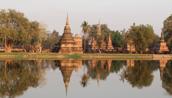 Las maravillosas ruinas de Sokhothai al norte de Tailandia